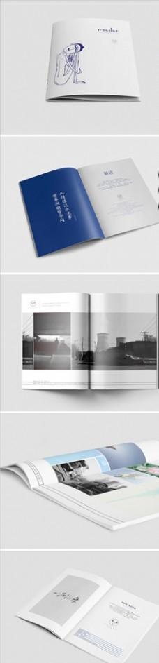 画册设计 书本设计 DM单设计