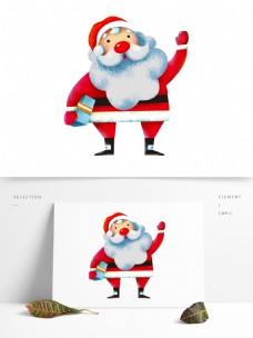卡通圣诞老人设计
