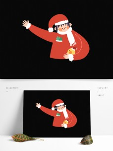 卡通过圣诞老人设计