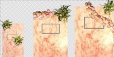 橙色大理石婚礼设计源文件
