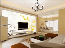 客厅背景 现代时尚背景
