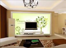 客厅背景 现代时尚背景 温馨