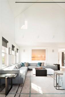 现代风格室内装修吊顶设计效果图