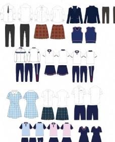 校服款式设计