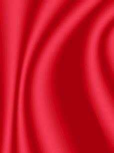 红色丝绸背景