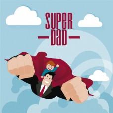 超级英雄插图