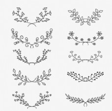 花卉装饰背景