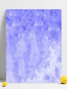 小清新渐变紫色水彩唯美原创背景