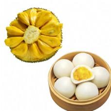 奶黄包 菠萝蜜