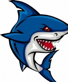 卡通 鲨鱼 海洋 淘气堡