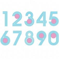 数字1-----9