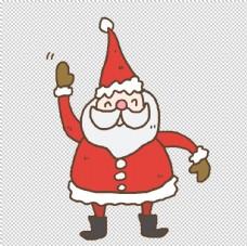 卡通圣誕老人