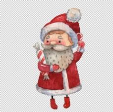 卡通圣诞老人