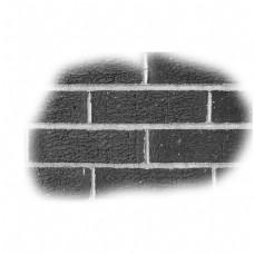 黑色墙壁卡通泼墨