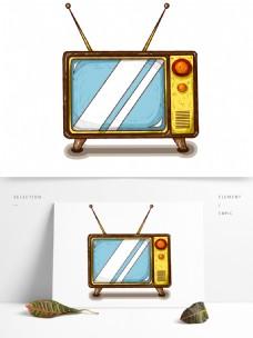 手绘商用生活用品电视机电器元素