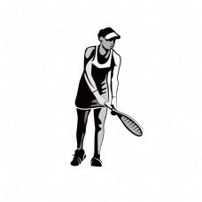 网球公开赛网球运动员