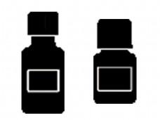 大小黑色暖壶素材