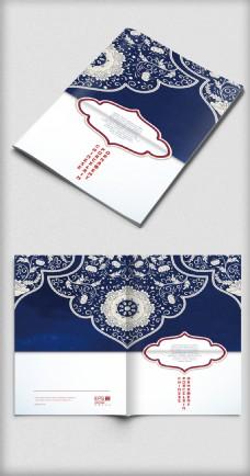中国风古典商务画册封面