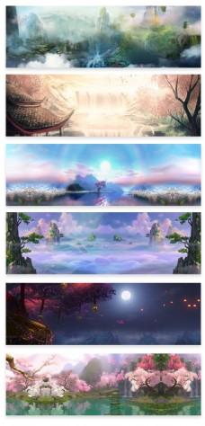 中国风秋季新品中秋季活动海报背景