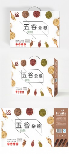五谷杂粮礼盒设计