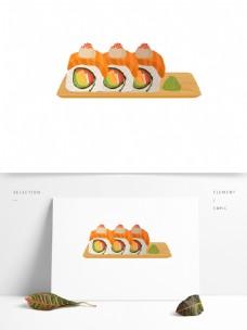 美味日本寿司美食元素