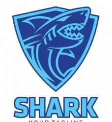 蓝色鲨鱼图标