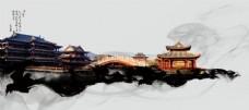 古典建筑背景