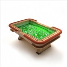 下注游戏桌模型