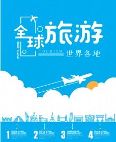 旅游海报旅游广告
