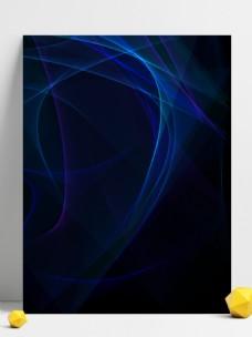 简约科技蓝色炫酷唯美梦幻渐变光效背景素材
