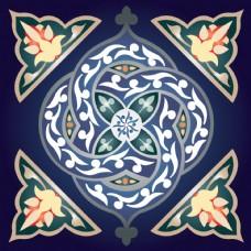 中國風復古花紋素材
