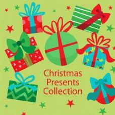 圣诞礼盒 圣诞节 圣诞小卡通
