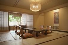茶室3D模型带光子图