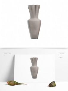 灰色现代欧式艺术花瓶生活装饰用品陶瓷瓶子