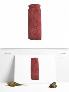 红色现代欧式艺术花瓶生活装饰用品陶瓷瓶子