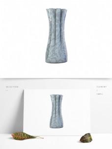 青灰现代欧式艺术花瓶生活装饰用品陶瓷瓶子