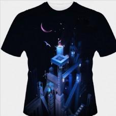 星空梦幻衣服图案