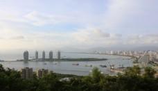 三亚湾全景