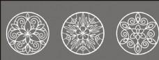 中式装饰花纹