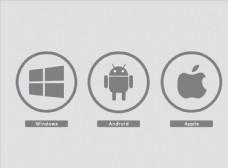 安卓苹果图标