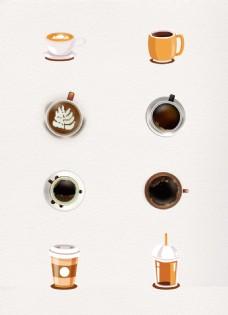 创意咖啡设计矢量素材