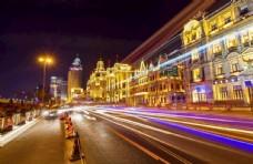 上海 外滩 夜景 一角