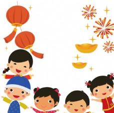 中国风过年卡通形象