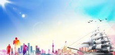 狂欢节素材 中国风背景 中国风