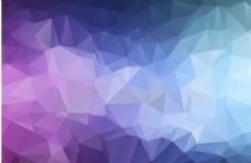 幾何晶格炫彩背景