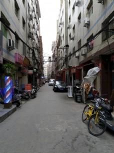 城中村的街道