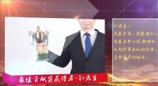 颁奖人物表彰大会AE模板