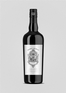 大气葡萄酒瓶包装