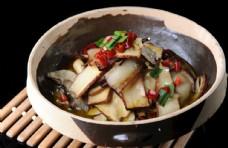 香干腊肉钵