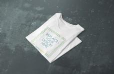tshirts衣服服饰样机模板